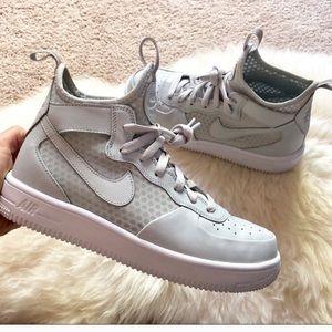 Grey Air Force 1 Ultraforce